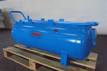 Horizontal pressure vessels (to be built on compressor)