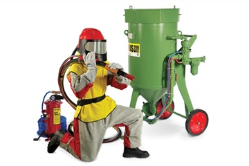 Abrasive blasting machines and CONTRACOR equipment