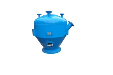 vessel for abrasive blasting machines